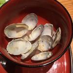 目黒魚金 - 海鮮バラちらし御膳1,706円、たっぷりのアサリ