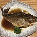 魚とし - 淡路産イサキの煮付け