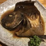 魚とし - メニューに載っていない石鯛の煮付け