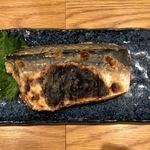 魚とし - 兵庫産鯖の塩焼き