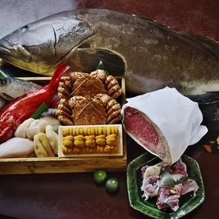 北海道の季節の味をご堪能いただけます
