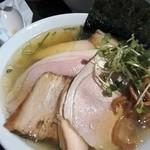 コマツ中華蕎麦店 - 肉塩そば¥980