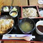 そば匠 春 - 料理写真:かつ丼セット2018.05.27
