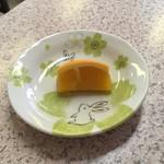 竹葉軒 - デザートのオレンジ('18/05/31)