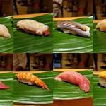 すし屋の芳野 - 料理写真:握り