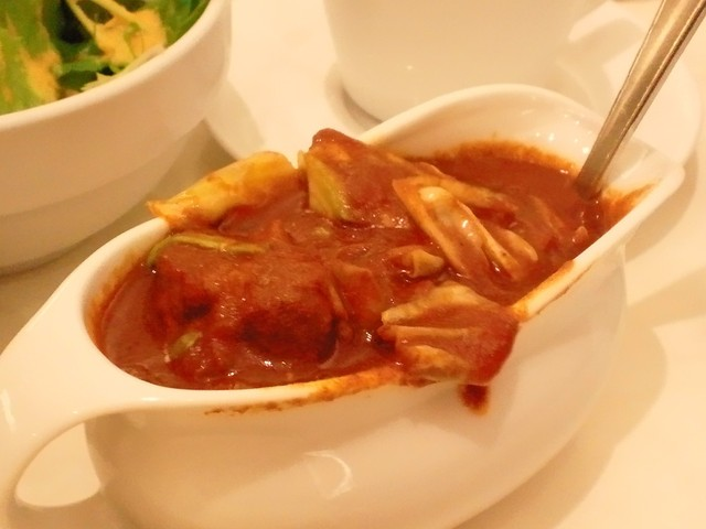 インド式 チャオカリー 汐留店 - キャベツとベーコンのカレー辛さ100倍
