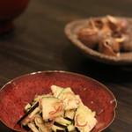 横浜 晋山 - 茄子とミョウガ