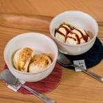 よかもんカフェ - 福岡の味覚をアイスに乗せて
