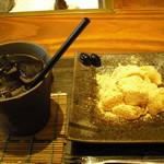 マメゾウアンドカフェ - わらびもちのセット