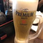 鳥まる - 生ビール