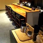 KAPPABASHI COFFEE & BAR - おしゃれでシンプルな店内