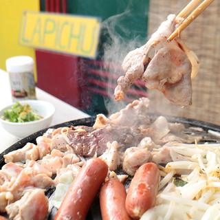 ◆ビアガーデンを楽しみながら美味しいお肉をお楽しみください◆
