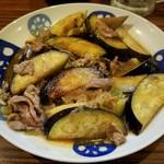 もつ焼 あぶさん - 料理写真:茄子のさっぱり炒め