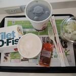 マクドナルド - 本日のお昼
