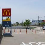 マクドナルド - 駐車場出口