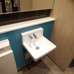 マクドナルド - トイレ内手洗い器