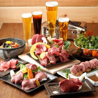 カドウシ熟成焼肉とクラフトビール