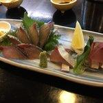 とよ常 - 料理写真:関サバ刺し