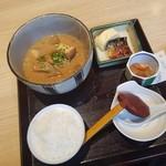 ふくいや - ランチA「豚汁定食 (850円)」