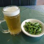 レストランコルネット - 生ビール(500円)