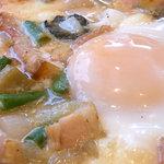 8681723 - 半熟卵がトロリ