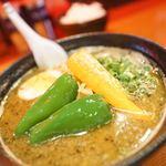 拉麺 札幌ばっち軒 - スーカラーメン
