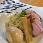 麺麓menroku - つけ麺小+紀州鴨3枚のせ