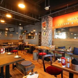 熊谷初15時から呑めて肉料理も美味いオシャレなビアレストラン
