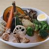 ローストビーフ丼&スープカリー くまちゃん