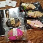 つたや - 豊田のお土産に最適の「くらうん最中」や「くらうんサブレ」