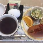 カフェジェノバ - 料理写真:ホットドッグ