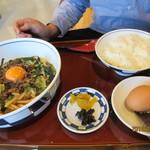 ころうどん・ころめし専門店 いなみころ - 神戸神戸牛すじころうどん定食