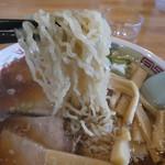 86817501 - 大好きな細縮れ麺は食感がとても良い