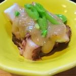 まるきん寿司 - たこ胡麻味噌和え❗