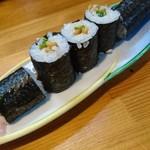 まるきん寿司 - 納豆巻き❗
