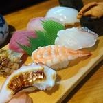 まるきん寿司 - 上握り❗