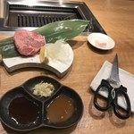 広島の黒毛和牛焼肉専門店 肉亭いちゆく - 厚切り上塩タン ハーフ