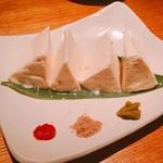 86825542 - 大分から取り寄せた矢野さんの手作り豆腐