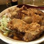 マサキヤ - 料理写真:肉汁かけうどんDX950円です。