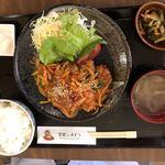 ライオン食堂 - 2018年5月28日  日替り定食(四元豚の酢豚)700円