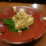 旬鮮炭火焼 獺祭 - 豆腐のもろみ漬け