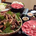 松茸屋魚松 - 松茸と特選近江牛を、すき焼き『あばれ食い』で味わい尽くす