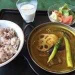 高根カントリークラブ レストラン - 料理写真:スープカレー