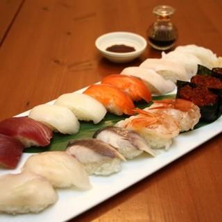 職人が握る【握り寿司】