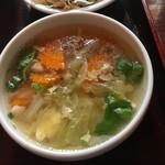 86833410 - ランチセットのスープ