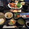 食楽 栞 - 料理写真:焼き魚御膳とミックスフライ御膳