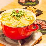 カフェ&ダイニング アオハナ - 冬季限定塩レモン鍋