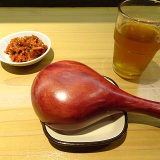 肉汁麺 牛ごろ極 - 料理写真:特製レンゲとか