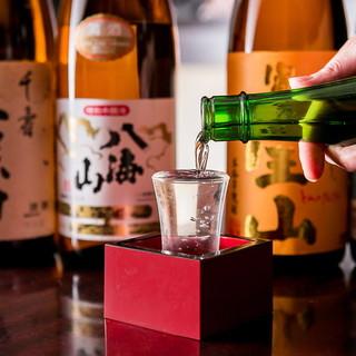 【ドリンク】鶏料理とよく合う地酒!