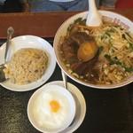 toukamura - 豚角煮と野菜ラーメン